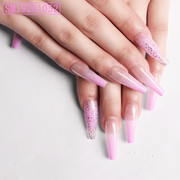 nail decoration, ballerina, Beauty, frenchnail