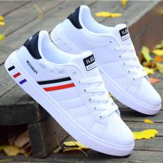 whitesneaker, skateboardshoe, Sneakers, Flats shoes