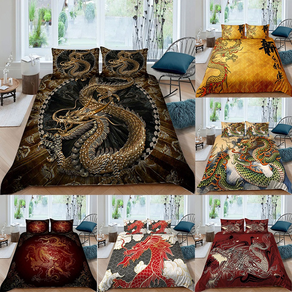 Chinese, Bedding, bettbezug, Cover