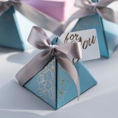 Box, Shower, pyramid, Gifts