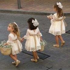 Bridesmaid, Lace Dress, kids clothes, Lace
