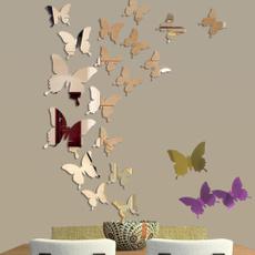 butterfly, decoration, butterflywallsticker, butterflymirrorwalldecal
