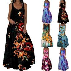 Summer, Fashion, print dress, Cocktail