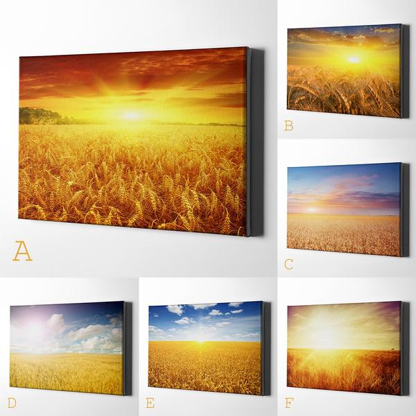 sunsetwallpainting, Beautiful, art, Nature
