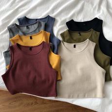 Summer, Vest, Shorts, Waist