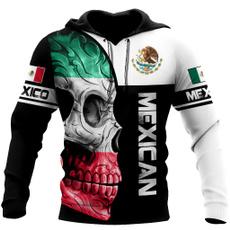 hoodiesformen, halloween hoody, skull, animal print