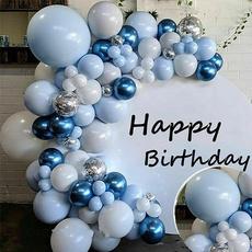 Blues, Garland, macaronballoonsarch, Balloon