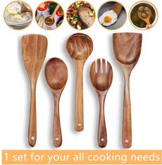 Wood, Kitchen & Dining, nonstick, Wooden