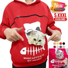Hoodies, pockethoodie, Fashion, petssweatshirt