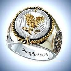 Sterling, ringsformen, amuletring, Jewelry