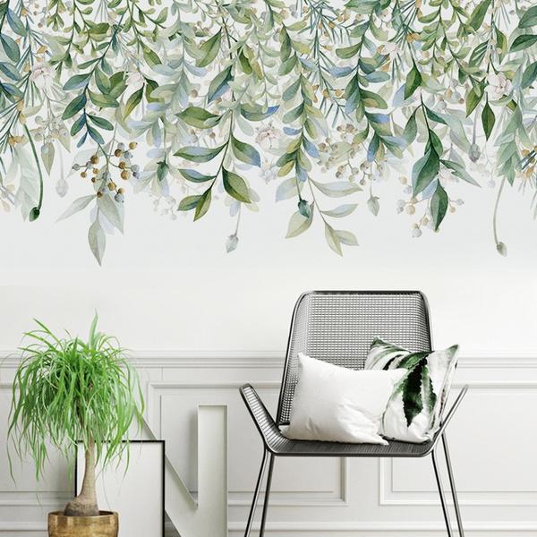 leaves, Decor, art, walldecoration