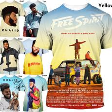 Mens T Shirt, Printed T Shirts, Summer, Tops