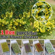 Box, Mini, Flowers, modelbuildingkit