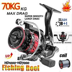 black, Metal, Fishing, fishingreel
