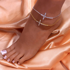 Fashion, Anklets, Chain, Fashionable