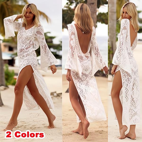 holidaybeachwear, Summer, Fashion, lacelongdre