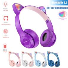 Headphones, cuteearphone, led, Gifts
