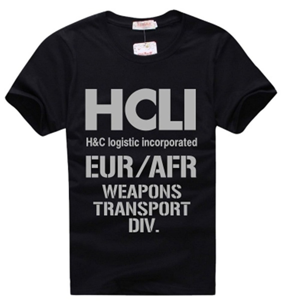 T Shirts, jormungand, Cosplay, black