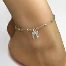 Sterling, angelwing, sterling silver, wishbracelet
