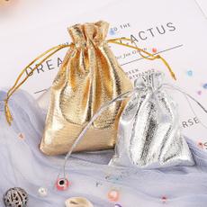 drawstringorganzabag, packagingbag, gold, Bolsas