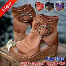 Shoes, wedge, Sandals, Women Sandals