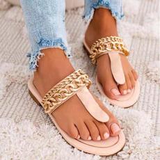 Shoes, Flip Flops, Sandals, Chain