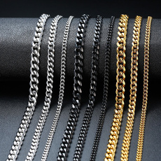 Steel, mensaccessroei, mensnecklacechain, Jewelry