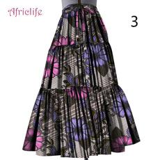 long skirt, Fashion, Cotton, africanmaxidre