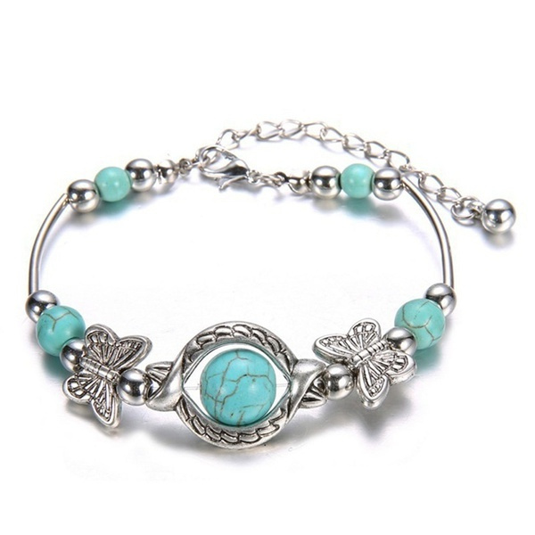 bohemia, butterfly, Turquoise, Fashion