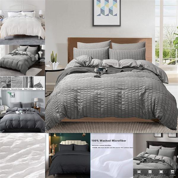 seersucker, beddingkingsize, duvet, Cover