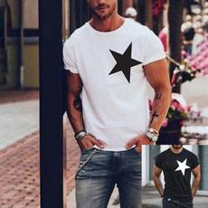 Mens T Shirt, Round neck, Short Sleeve T-Shirt, Necks