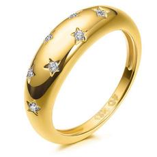 DIAMOND, Star, Jewelry, gold