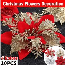 garlandmaterial, christmastreeflower, Flowers, Christmas
