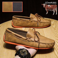 Flats & Oxfords, Fashion, casual leather shoes, leather shoes