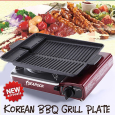 Grill, Outdoor, camping, smokelessbarbequegrill