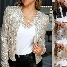 blazerjacket, Fashion, Long Sleeve, Women's Fashion