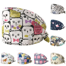 cute, Fashion, buttoncap, animal print