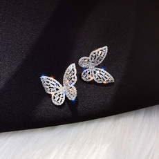 butterfly, DIAMOND, Jewelry, Gifts