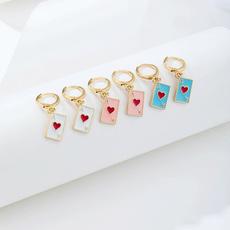Poker, Fashion, Dangle Earring, Jewelry