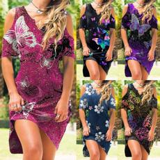 butterflyprint, butterfly, Summer, Dress
