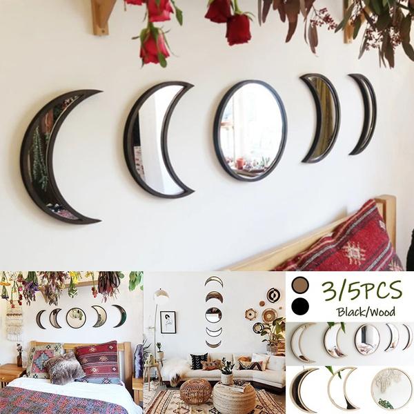 moonphasemirror, walldecorationsforhome, walldecoration, Home & Living