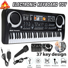electricpiano, Microphone, Toy, Musical Instruments