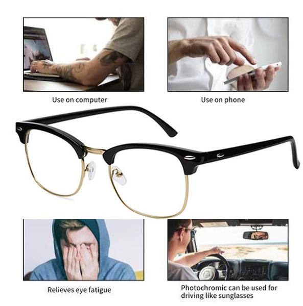 Blues, Vintage, eyeprotection, Computer glasses