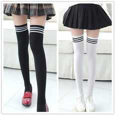 stockingshighstocking, Socks, Women's Fashion, black