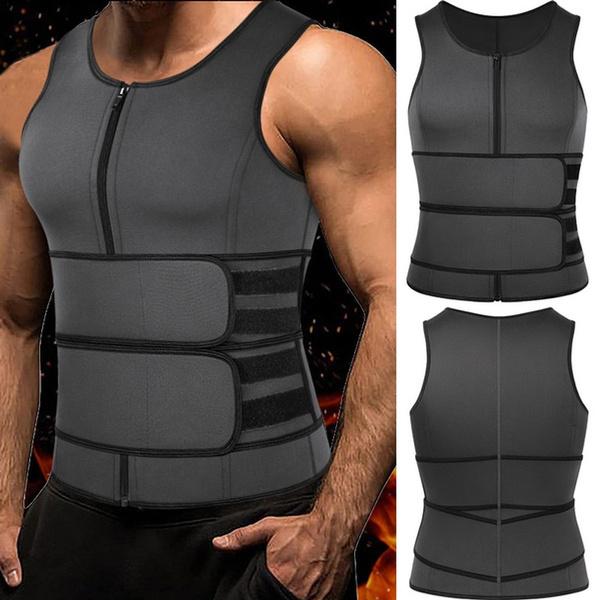 Vest, saunasweatsuit, waisttrainercorset, bodyslimming