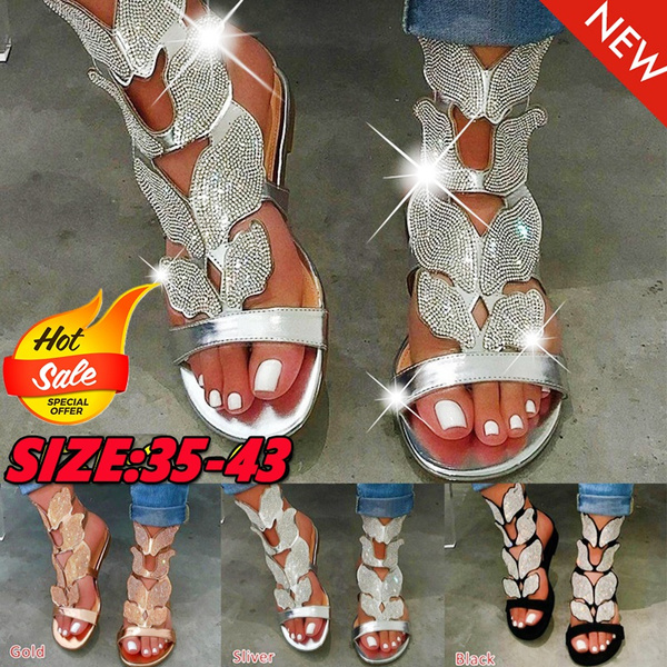 Summer, Sandals, Ladies Fashion, flatsandal
