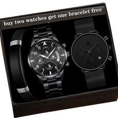 Fashion, Bracelet, Stainless Steel, Watch