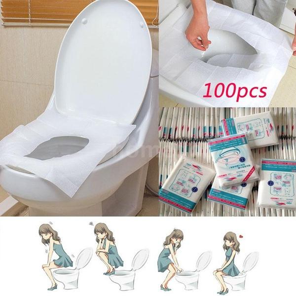 Bathroom, Bathroom Accessories, portable, disposabletoiletmat