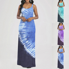 Summer, Vest, printeddres, vest dress