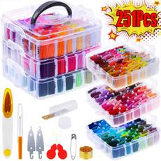 crossstitch, rainbow, embroiderythread, Tool